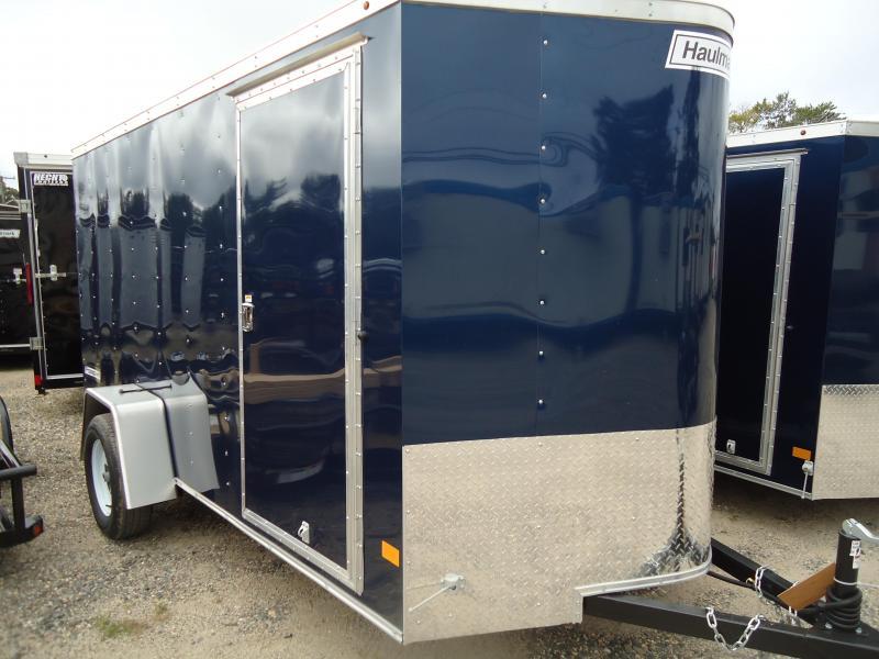 2018 Haulmark 6X12 PPT DS2 RAMP BLUE Enclosed Cargo Trailer