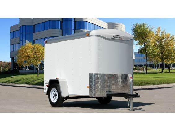 2017 Haulmark 5x8TST DS2 WHITE Enclosed Cargo Trailer