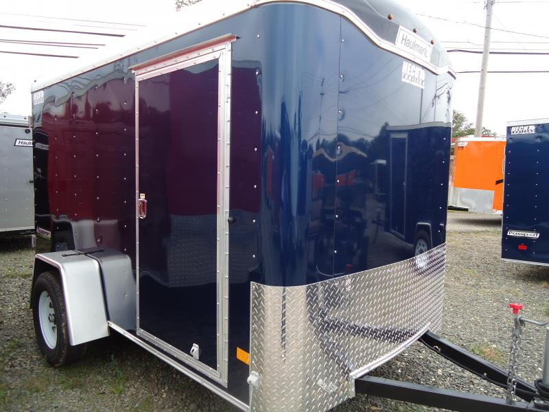 2018 Haulmark 6X10 TST DS2 BLUE Enclosed Cargo Trailer