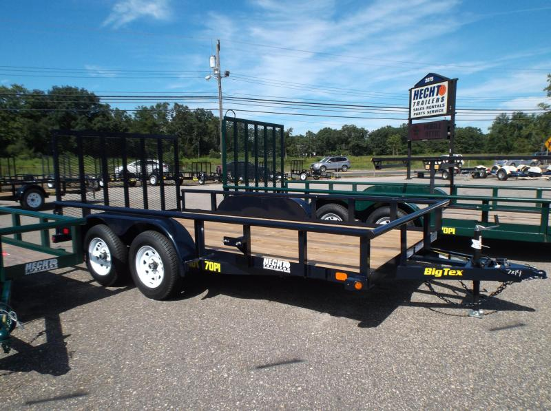 2017 Big Tex Trailers UT-7X14 70PI-14XBK4RG Utility Trailer