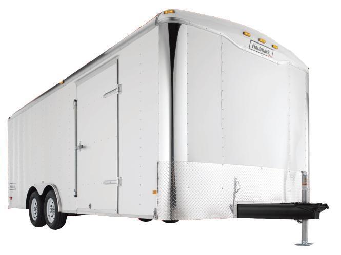 2017 Haulmark 7X14 TH DT2 RAMP R RNG R VENT WHITE Enclosed Cargo Trailer