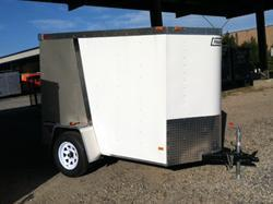 2014 Haulmark 5X8 TSTV Enclosed Cargo Trailer