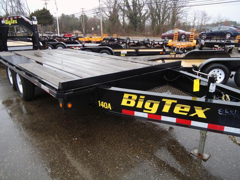 2015 Big Tex Trailers USED EH 8.5X16 14OA 14BK8SIR BLACK Equipment Trailer