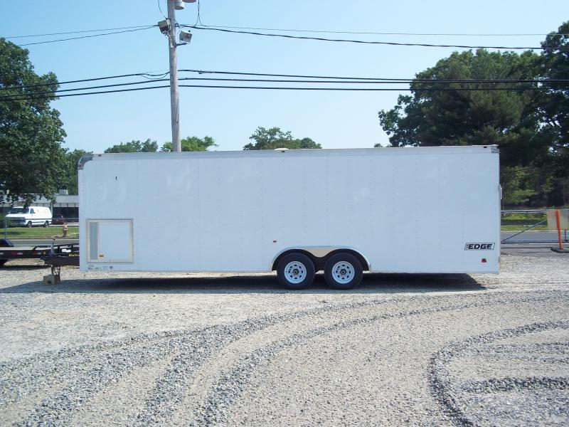2017 Haulmark 8.5X24EGC WT3 6TUNG WHITE Enclosed Cargo Trailer