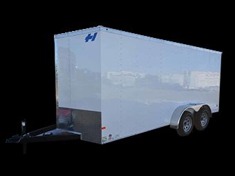 2017 Haulmark 7X16TH DT2 RAMP Cargo / Enclosed Trailer