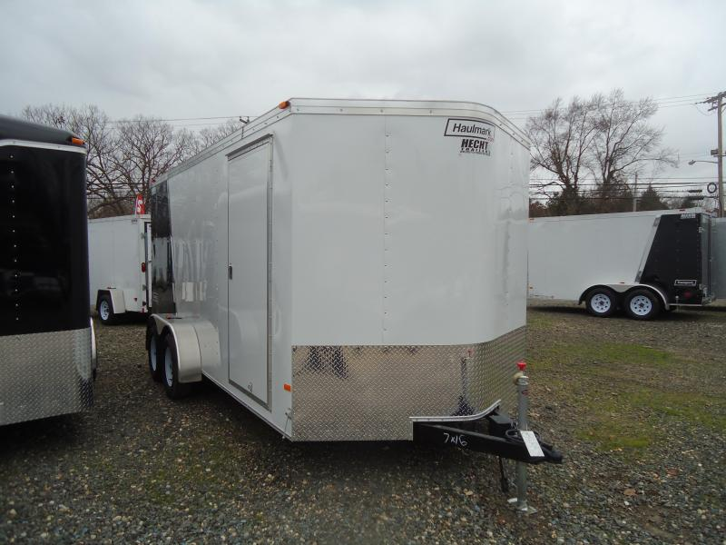 2017 Haulmark 7X14TSTV WT2 RAMP BLUE & SILVER Enclosed Cargo Trailer