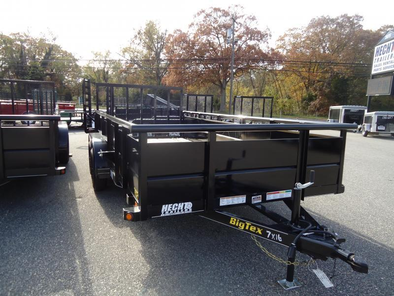 2016 Big Tex Trailers UT-7X16 70TV-16BK4RG Utility Trailer