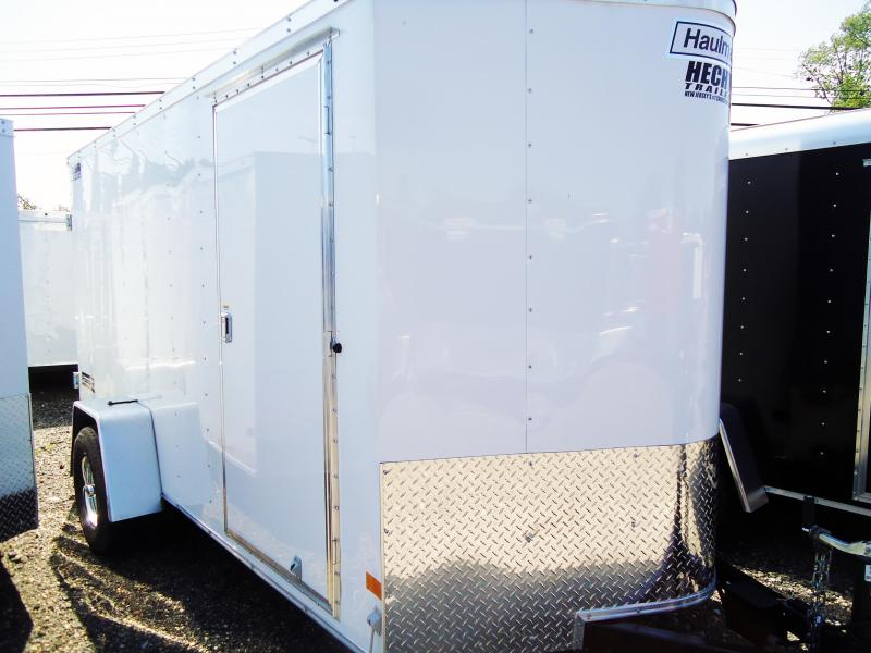 2018 Haulmark 6X12 PPT DS2 ED BRAKES WHITE Enclosed Cargo Trailer