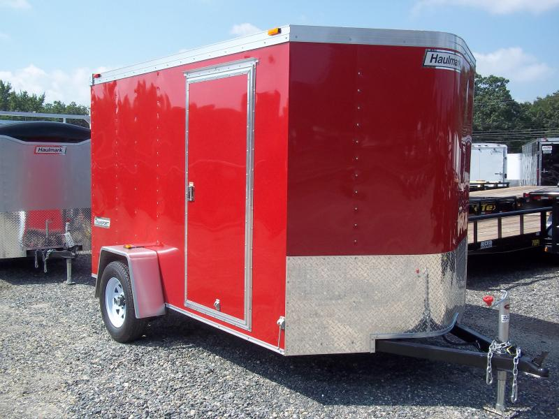 2017 Haulmark 6X12 TSTV DS2 LD RAMP RED Enclosed Cargo Trailer