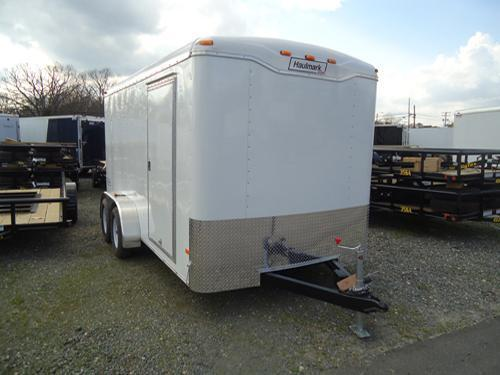 HAULMARK 7X14TST WT3 LDR RCK R VENT WHITE Enclosed Cargo Trailer