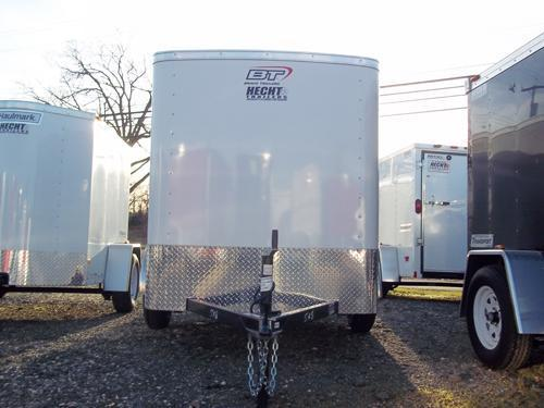2017 Bravo Trailers 5X10SC SA 6X LD RAMP APP WHITE Enclosed Cargo Trailer