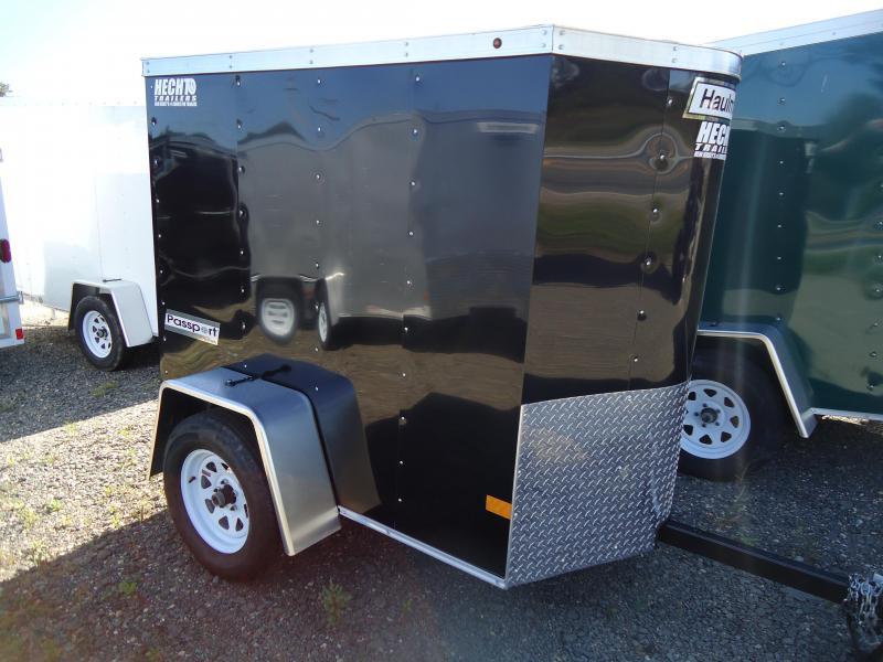 2018 Haulmark 4X6 PPT DS2 BLACK Enclosed Cargo Trailer