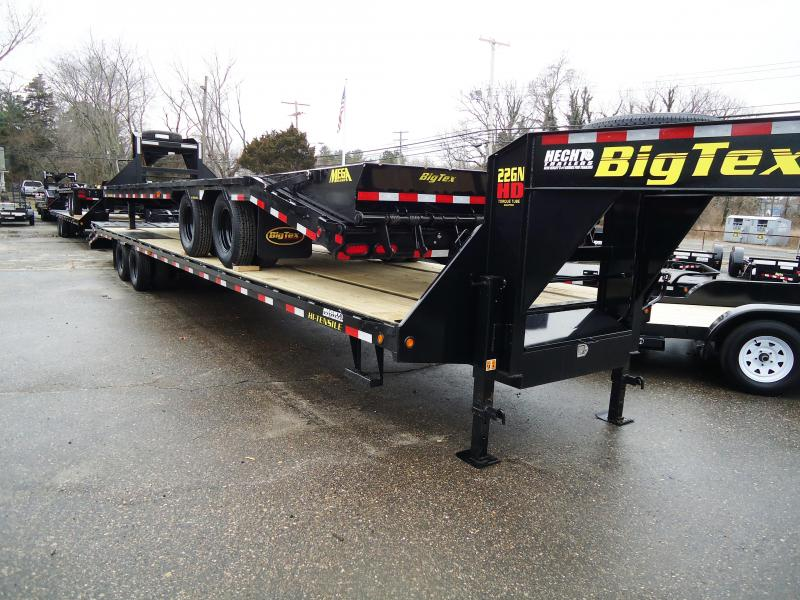 2018 Big Tex Trailers EH 8.5X40 22GN 35BK+5MR MEGA BLACK Equipment Trailer