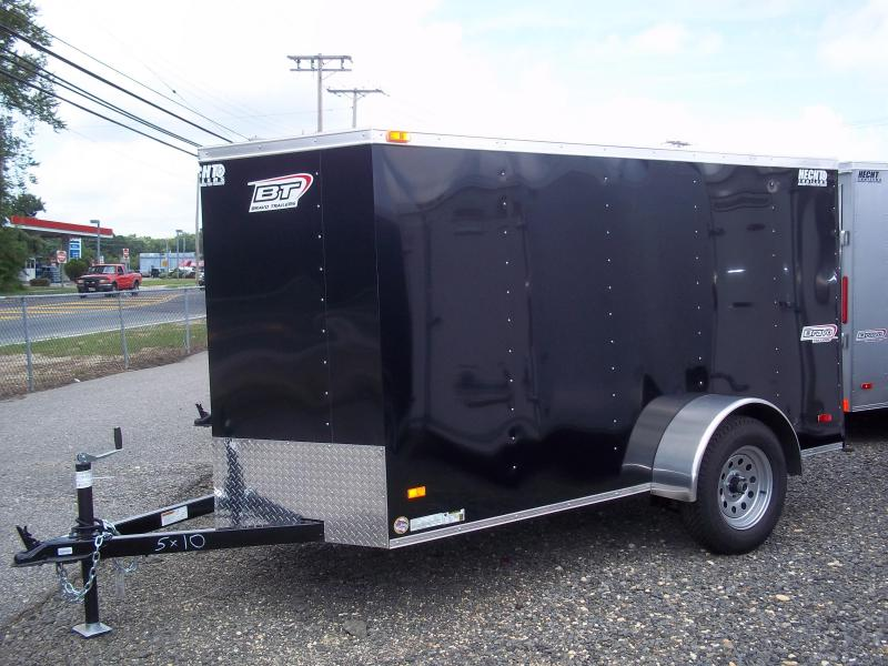 2017 Bravo Trailers 5X10SC SA V LD RAMP APP BLACK Enclosed Cargo Trailer