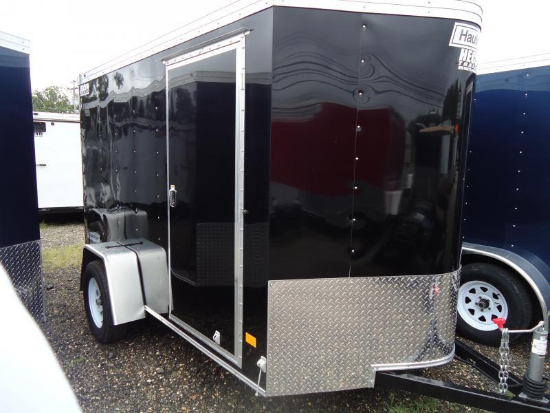 2017 Haulmark 6X10 TSTV DS2 LD RAMP BLACK Enclosed Cargo Trailer