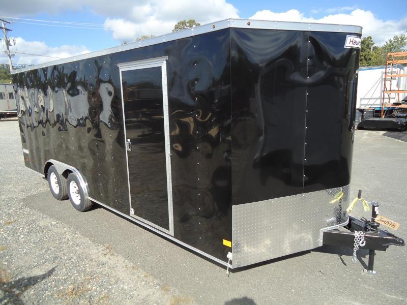 2018 Haulmark 8.5X20 PPT WT2 BLACK Enclosed Cargo Trailer