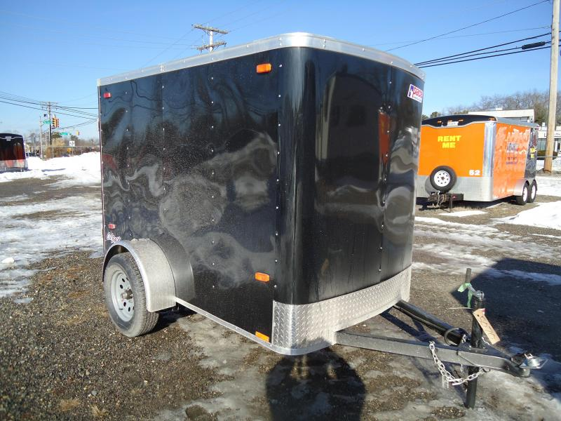 2018 Pace American 5X8 OB SI2 RAMP BLACK Enclosed Cargo Trailer