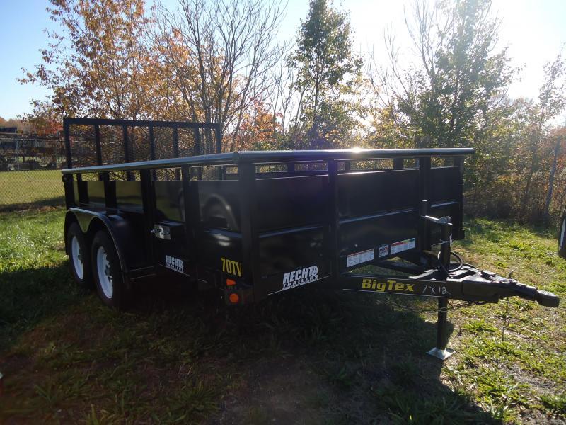 BIG TEX UT-7X12 70TV-12BK4RG BLACK