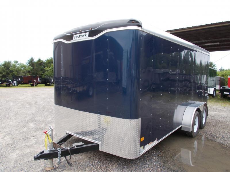 2017 Haulmark 7X16 TST WT2 BLUE Enclosed Cargo Trailer