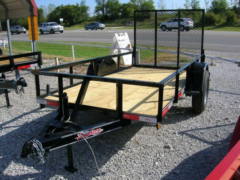 Longhorn 5x8 Utility Trailer 3500# Axle