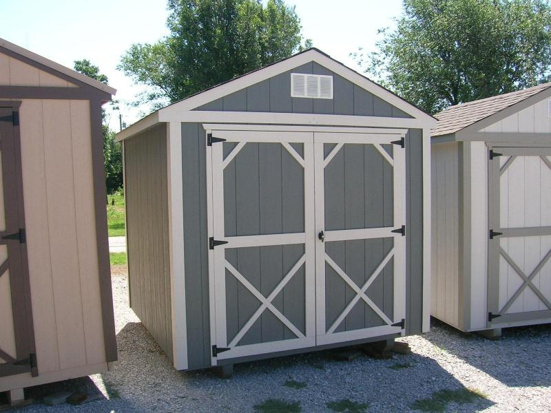 ***DISCOUNTED*** 8x8 Utility Storage Building