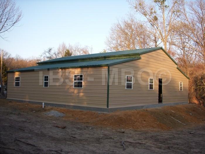44x40 Barn House #B043
