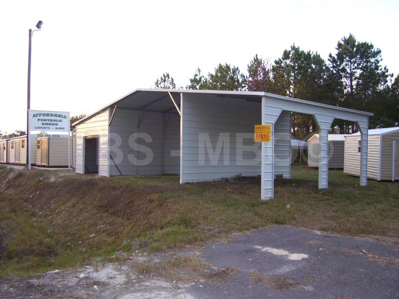 36X20 Carport / Barn #B005