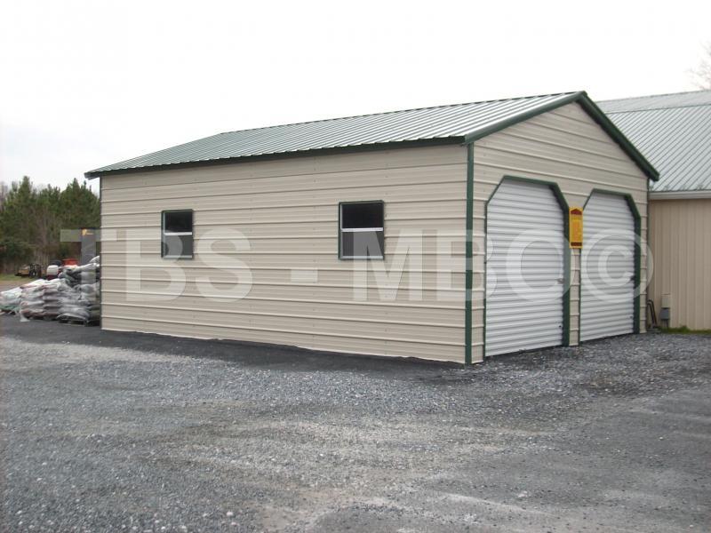 24X35X9 Garage / Shop #G044