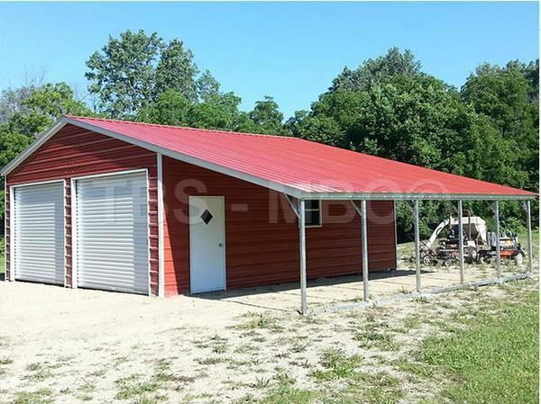36x25 Barn / Garage #B040