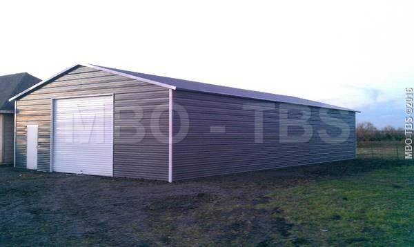 24x50x10 Garage #G115