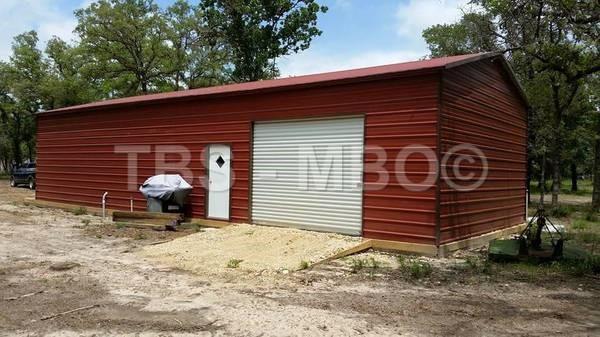 24x40x10 Garage #G065