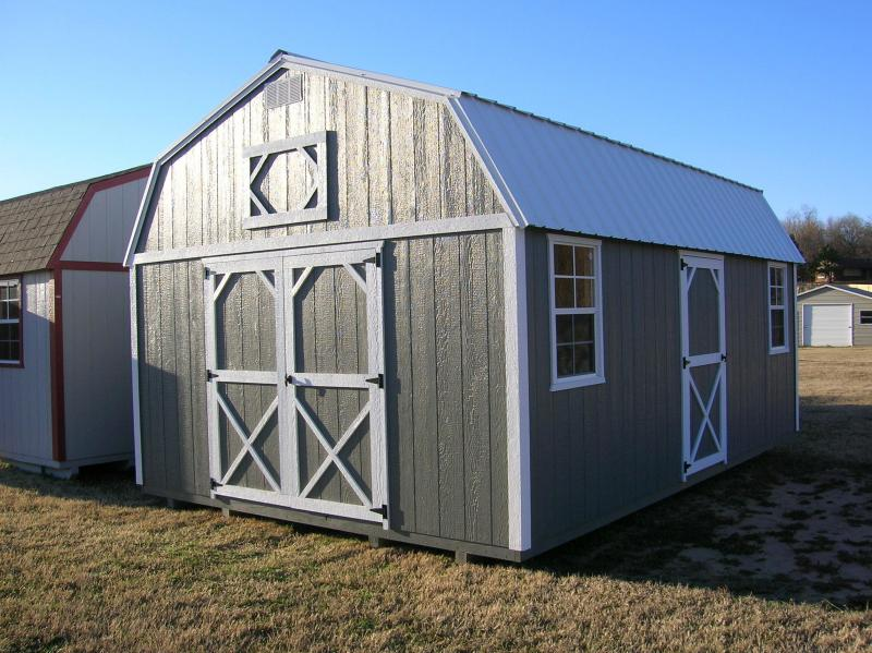 14x20 LOFTED BARN