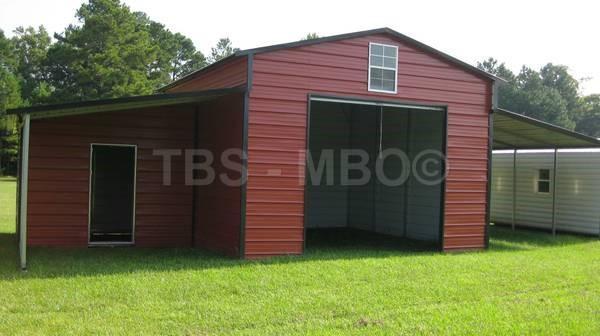 42x20 Barn / Garage #B058