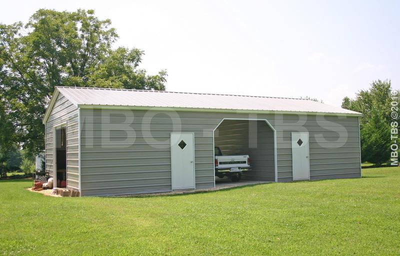 24x50x10 Garage Shop G26 Trailers Portable Storage