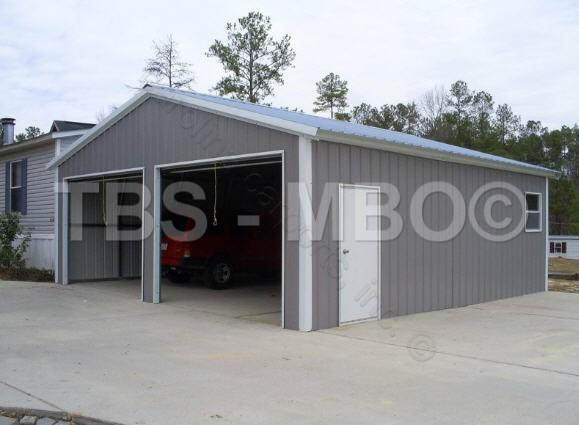 24X30X9 Garage / Shop #G058 & 24X30X9 Garage / Shop #G058 | Garages Barns Portable Storage ...