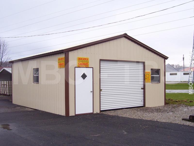 22x25x9 Garage Shop G52 Trailers Portable Storage