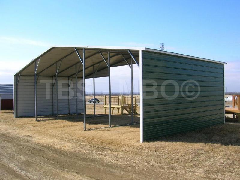 42X20 Barn / Carport #B019