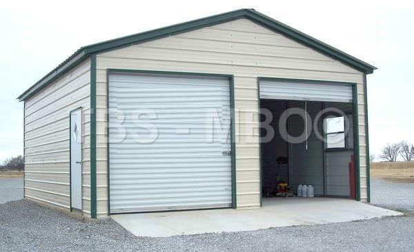 24x25x9 Garage #G067