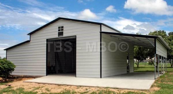 48x25 Barn / Garage #B069
