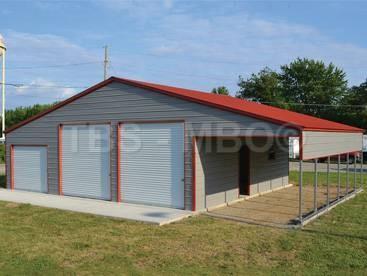 48x30 Barn / Garage #B036