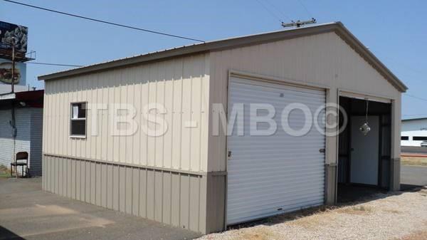 24x25x9 Garage #G145
