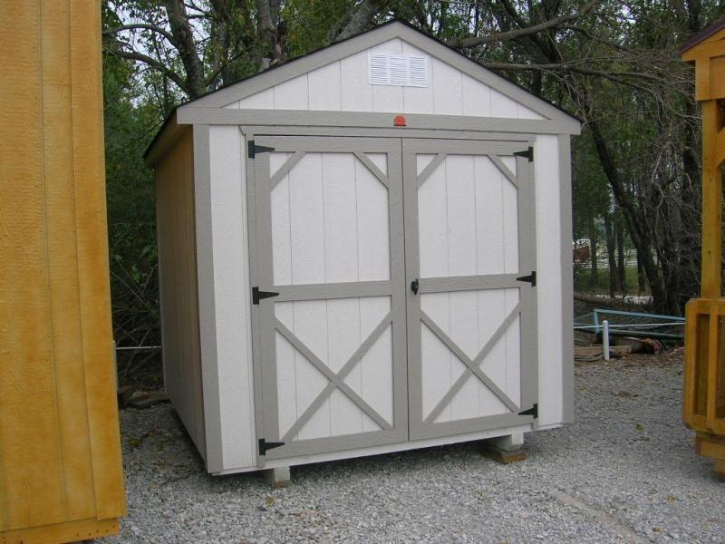***DISCOUNTED*** 8x8 UTILITY BUILDING