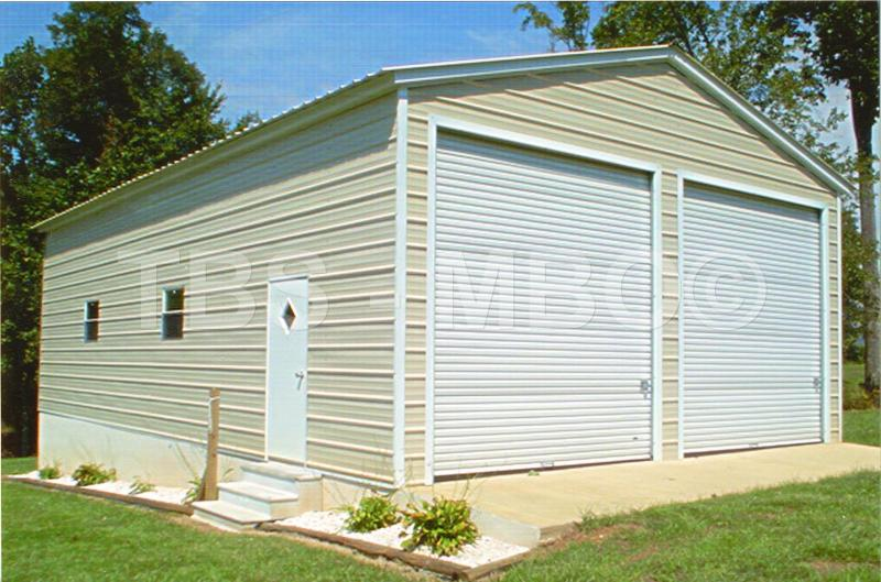 30x40x16 garage shop g008 garages barns portable for 12x14 garage door