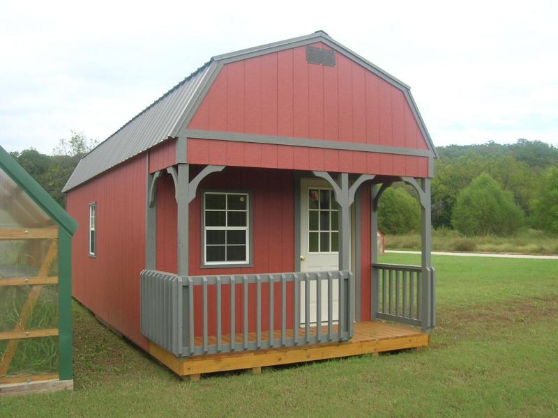 12X30 LOFTED BARN CABIN