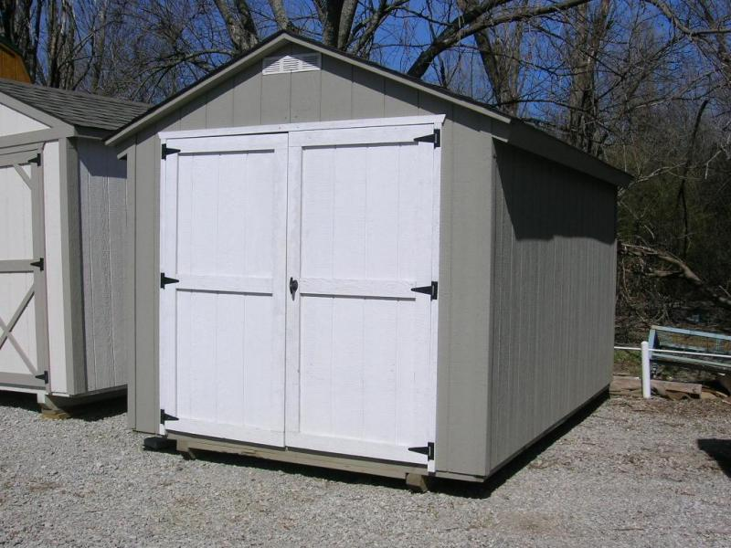 8x12 Basic Utility Storage Building
