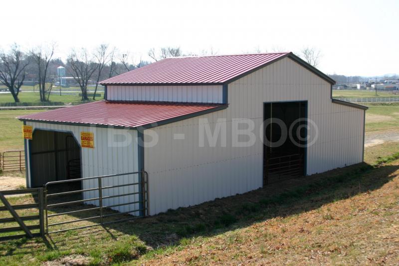 42X25 Barn #B017