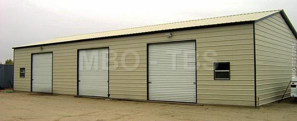 30x60x12 Garage #G121