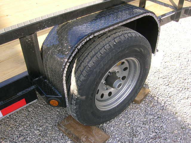 East Texas 77x14 Utility Trailer 5200# Axle