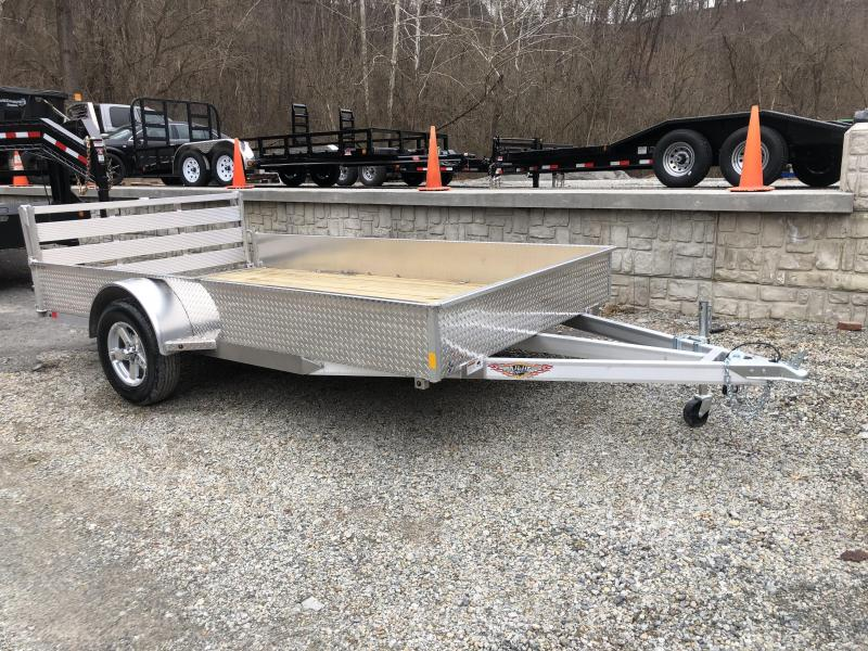 """H&H Solid Side Utility Trailer 82""""x12' (SSA)"""