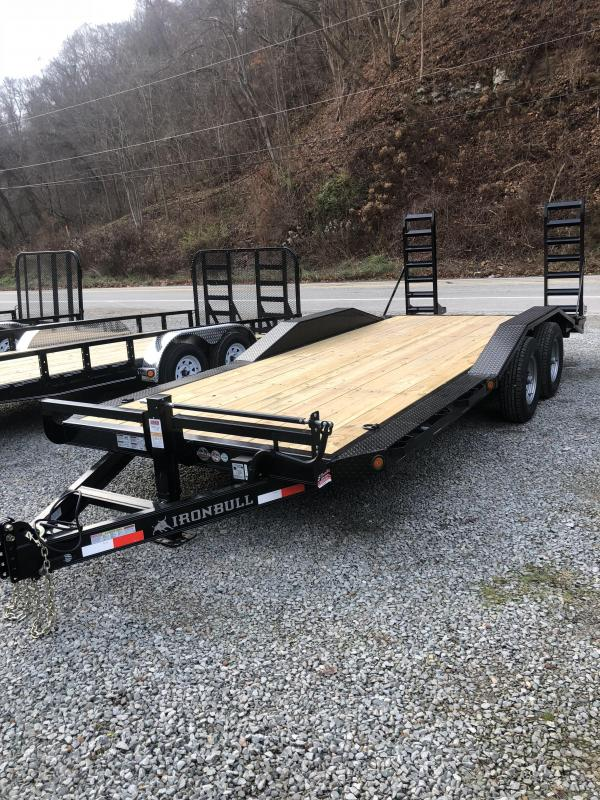 Ironbull 20' Equipment Trailer w/ HD Drive-over Fenders (EQ)